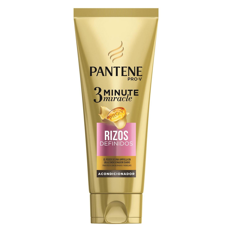 Acondicionador 3 minutos rizos definidos Pantene 200 ml.