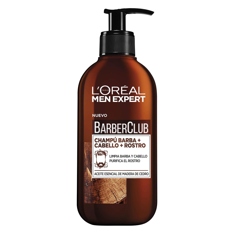 shampoo para barba loreal
