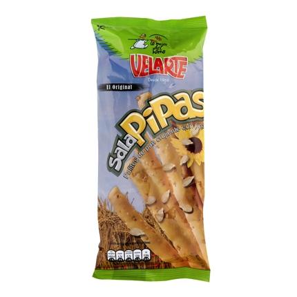 Palitos de pan crujiente con pipas Salapipas