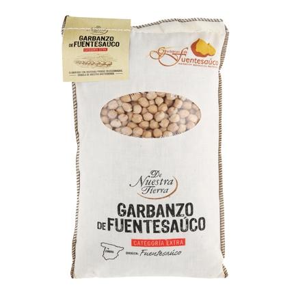Garbanzo de Fuentesauco De Nuestra Tierra categoría extra 1 kg.