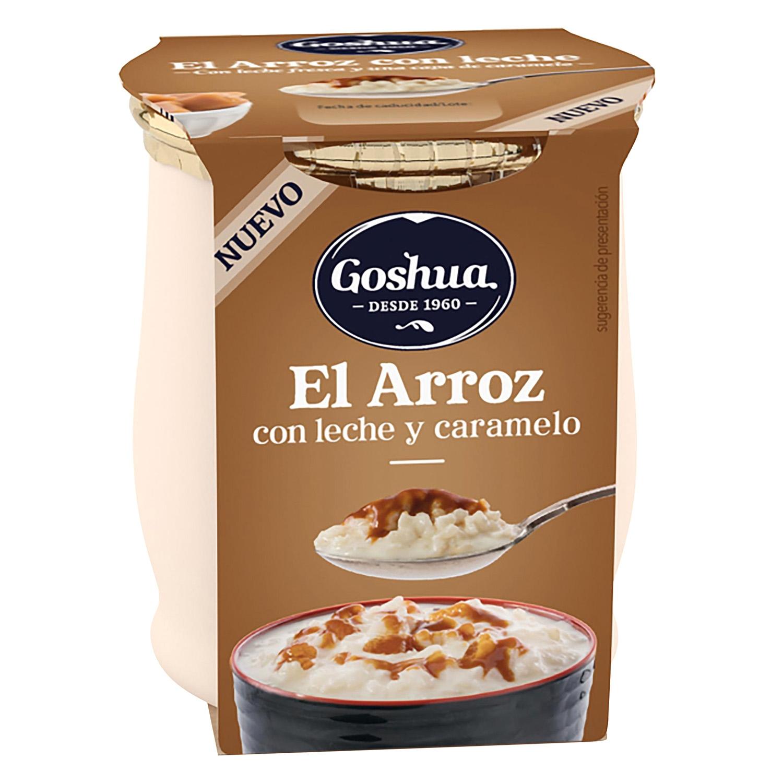 Arroz con leche y caramelo Goshua 140 g.