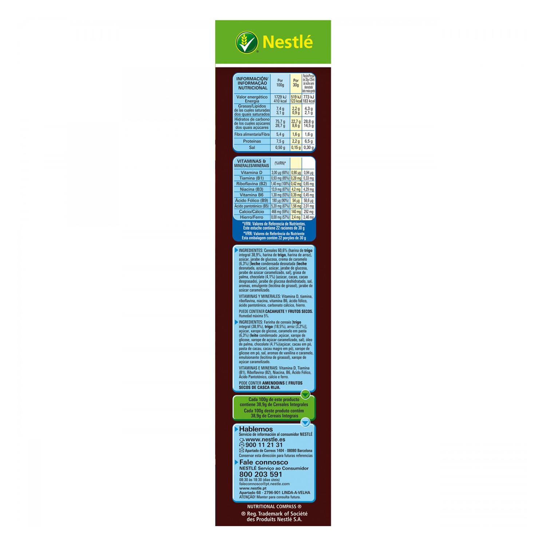 Cereales integrales con caramelo y chocolate Lion Nestlé 675 g. - 3