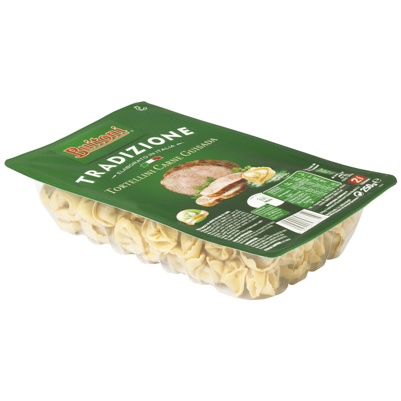 Tortellini de carne guisada Buitoni al huevo 250 g. -