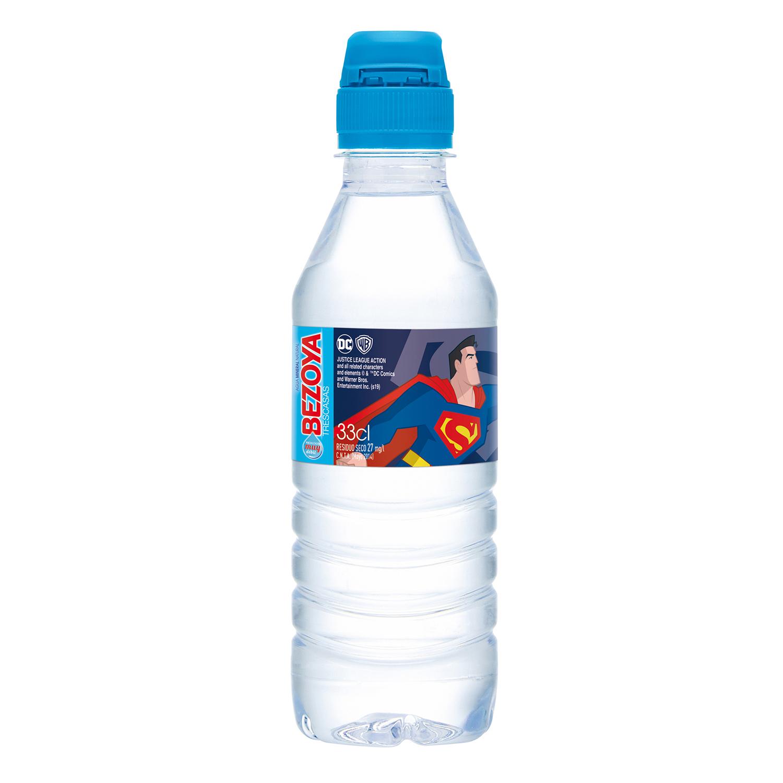 Agua mineral Bezoya natural 33 cl.