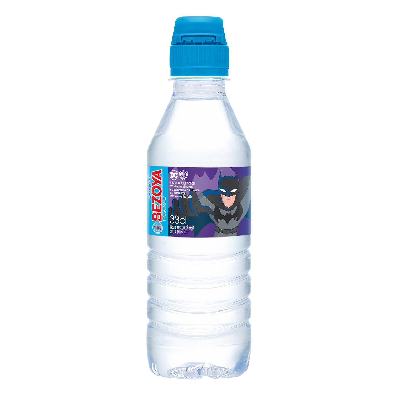 Agua mineral Bezoya natural 33 cl. -