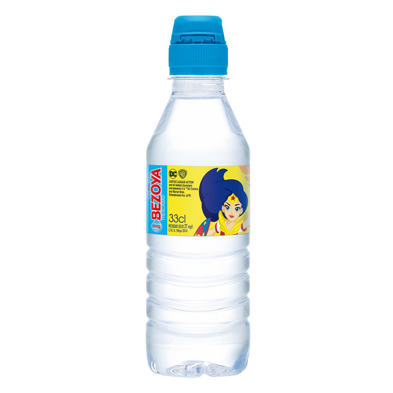 Agua mineral Bezoya natural 33 cl. - 2