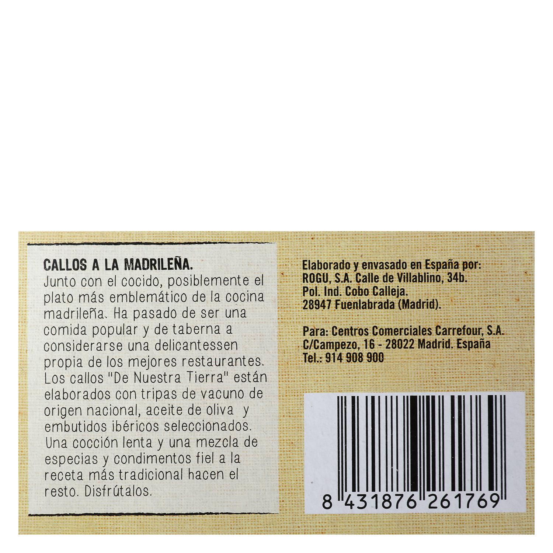 Callos a la Madrileña - 3