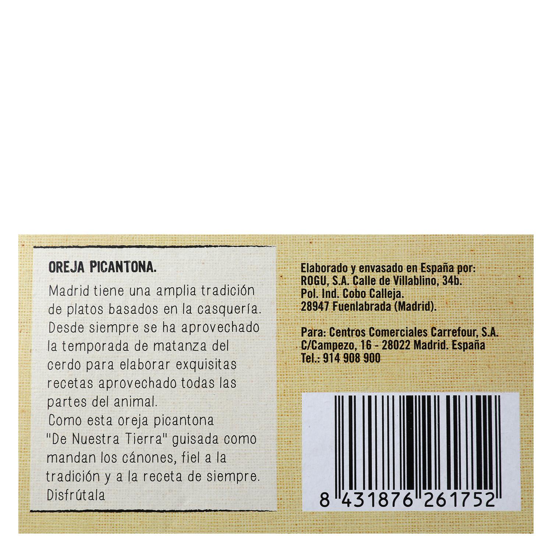 Oreja picantona - 3