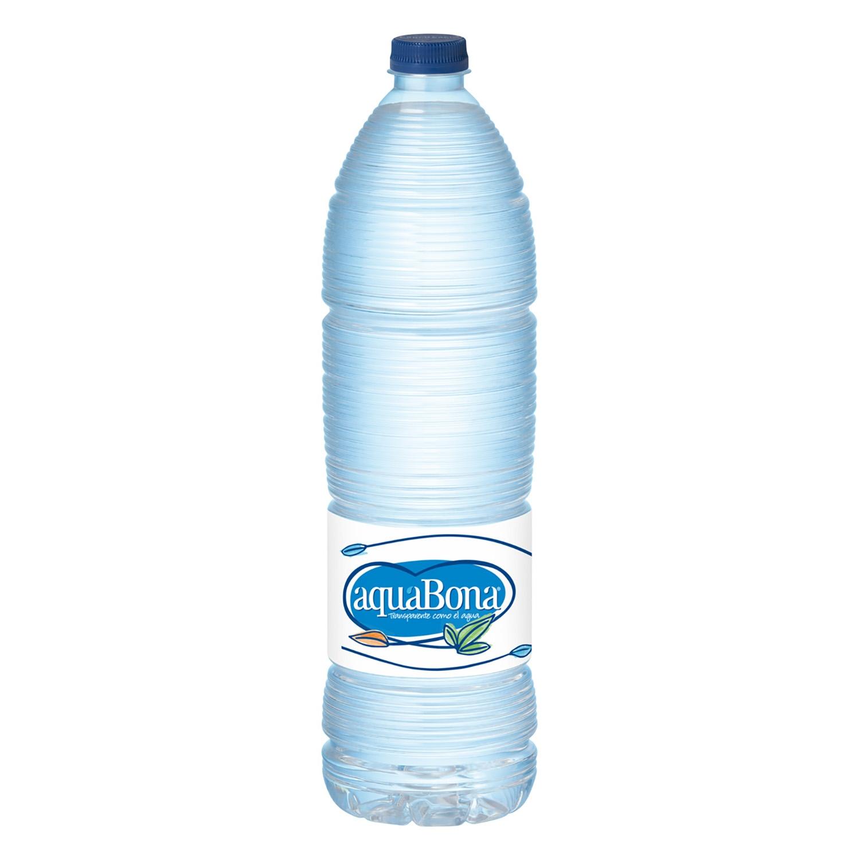Agua mineral Aquabona natural 1,5 l.