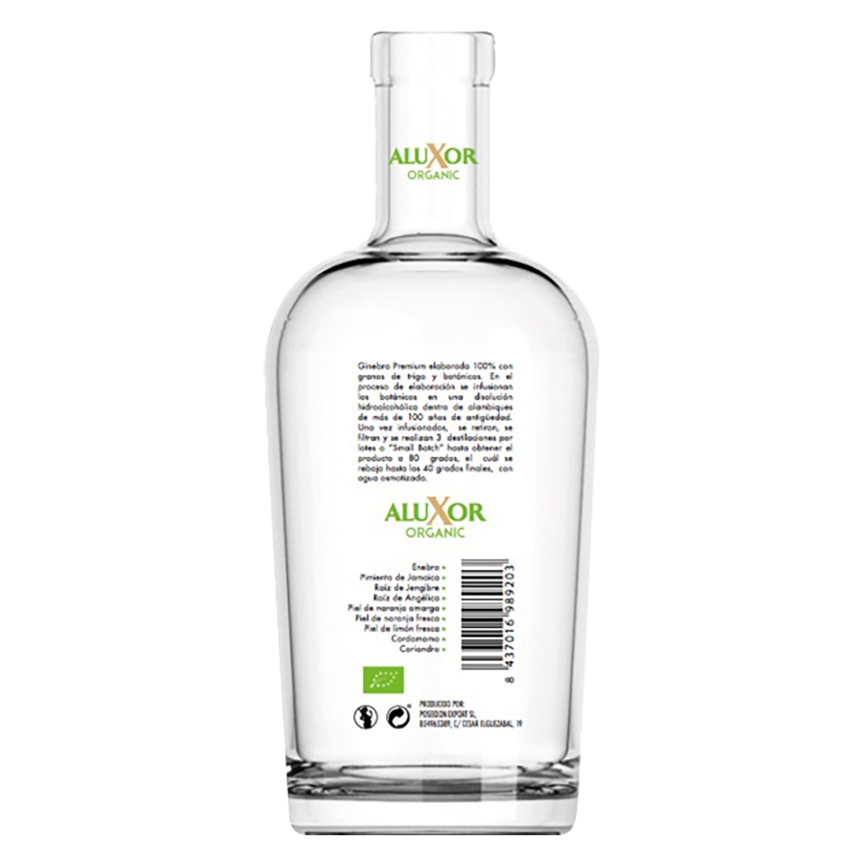 Ginebra ecológica Aluxor Organic 70 cl. -