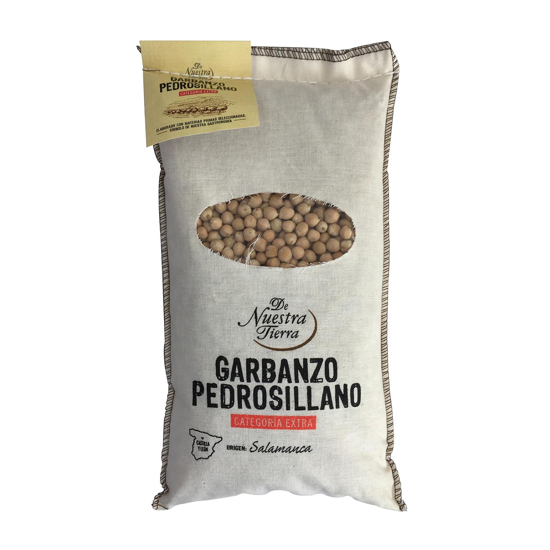 Garbanzo pedrosillano De Nuestra Tierra categoría extra 1 kg.