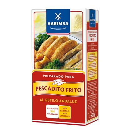 Harina para pescado frito Harimsa 500 g.