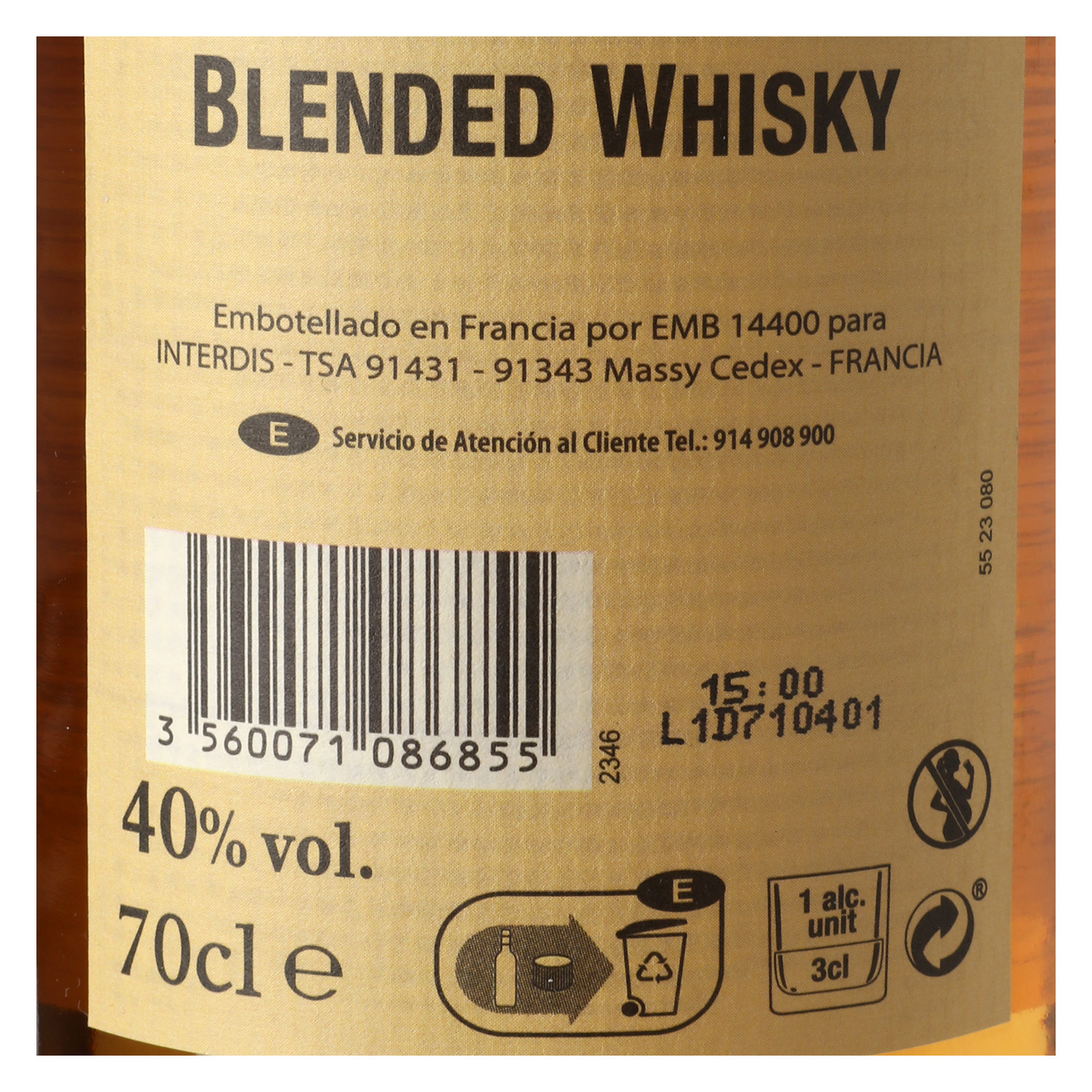 Whisky Westerly 70 cl. - 2