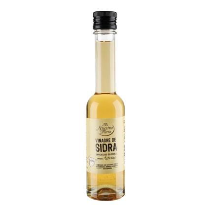 Vinagre de sidra De Nuestra Tierra 250 ml.
