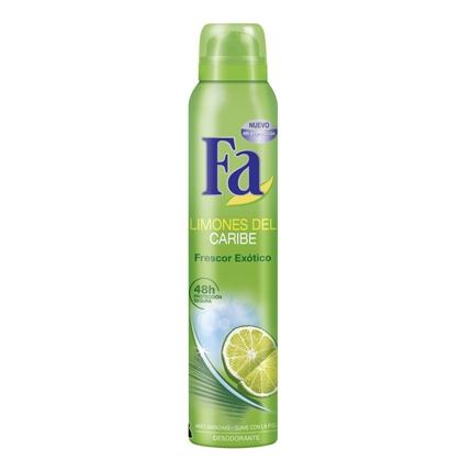 Desodorante Limones del Caribe Fa 200 ml.