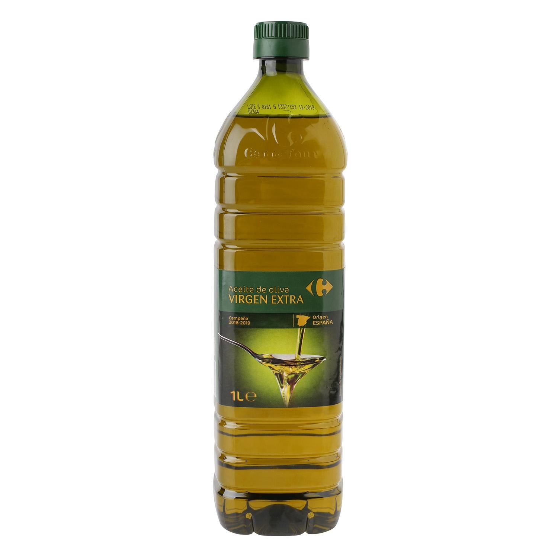 Aceite de oliva virgen extra Carrefour 1 l.
