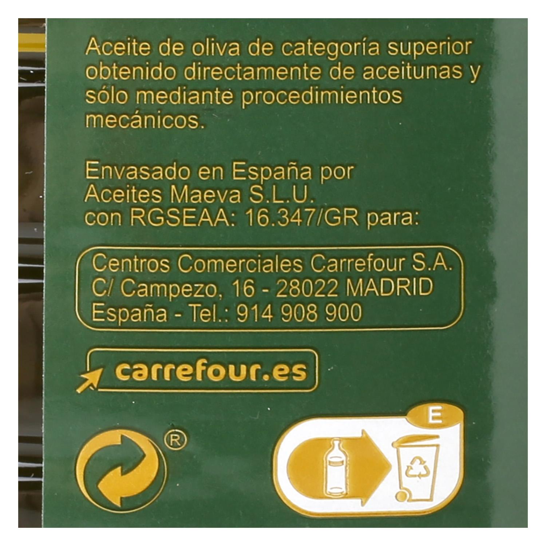 Aceite de oliva virgen extra Carrefour 1 l. - 2