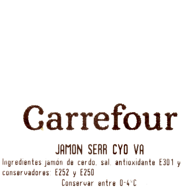 Centro jamón serrano Carrefour Calidad y Origen al corte 150 g aprox - 3