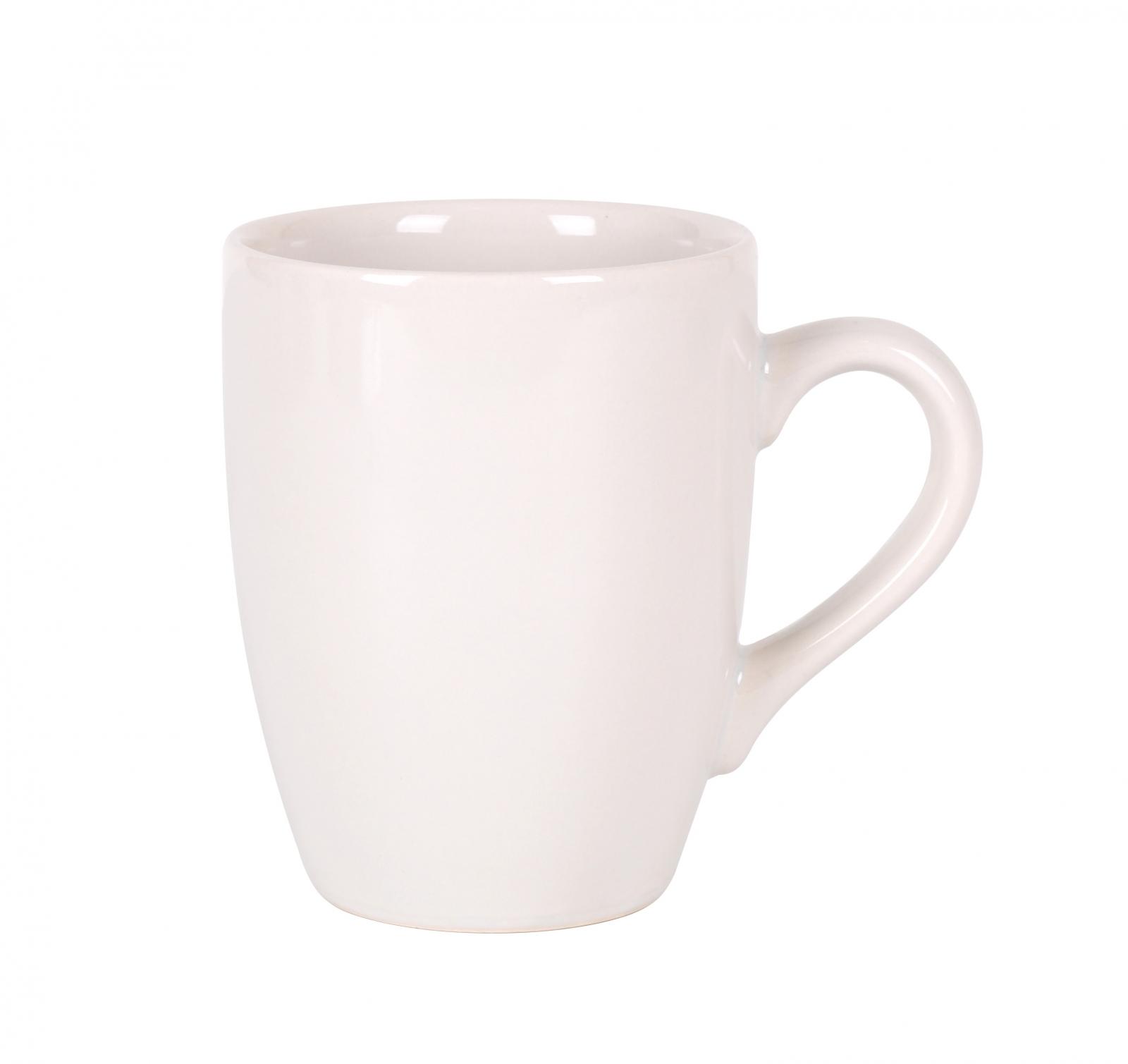 Mug de Stonweare ALFARES DE S.C Onda 8,4x9,5cm - Ivory