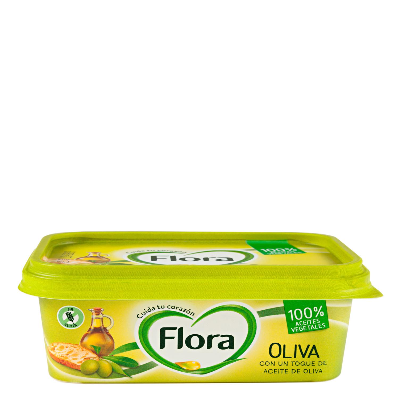 Margarina con Oliva y Omega 3 y 6 Flora 260 g.