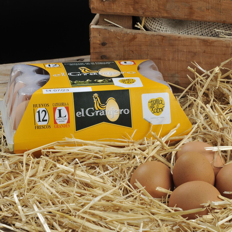Huevos L de Granja Tierra De Sabor - Carrefour supermercado compra ...