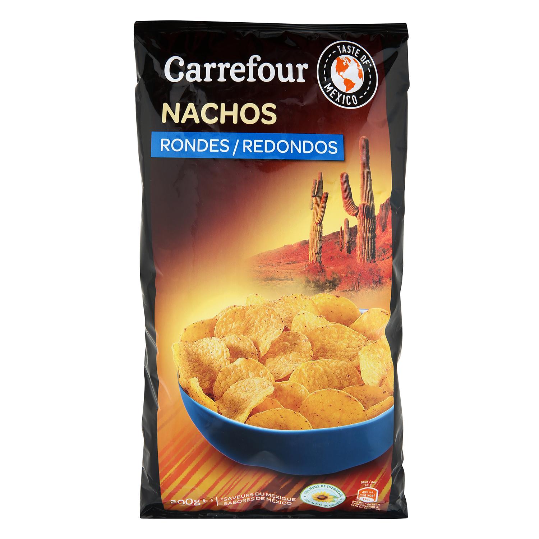 Nachos redondos natural