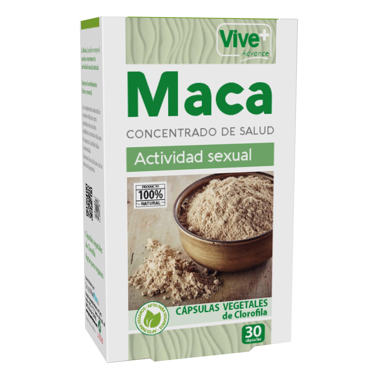 Complemento alimenticio Maca Vive Plus 30 cápsulas