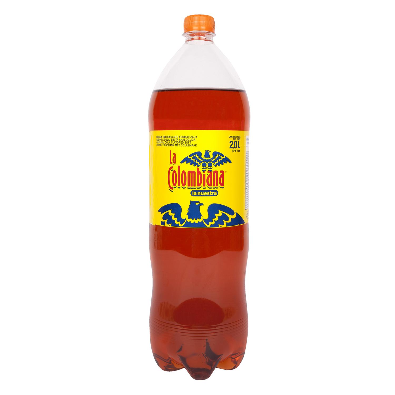 Gaseosa La Colombiana sabor cola botella
