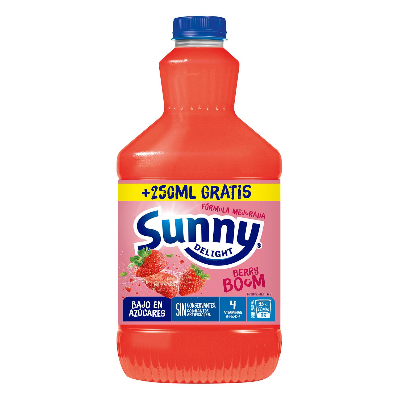 Zumo de fresa y morango Sunny Delight botella 1,25 l.