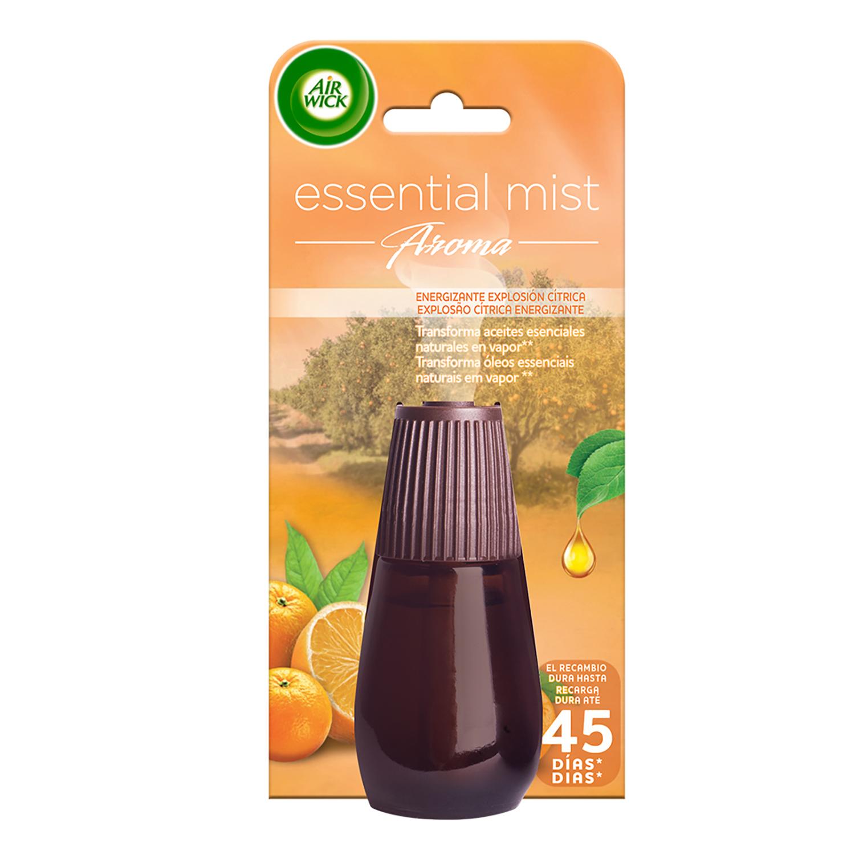 Ambientador recambio essential mist explosión cítrica