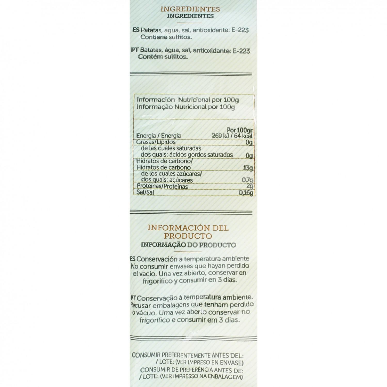 Patata pelada cocida esterilizada Huercasa 500 g - 3