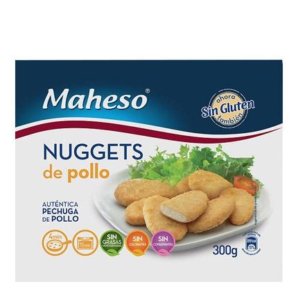 Nuggets de pollo sin gluten