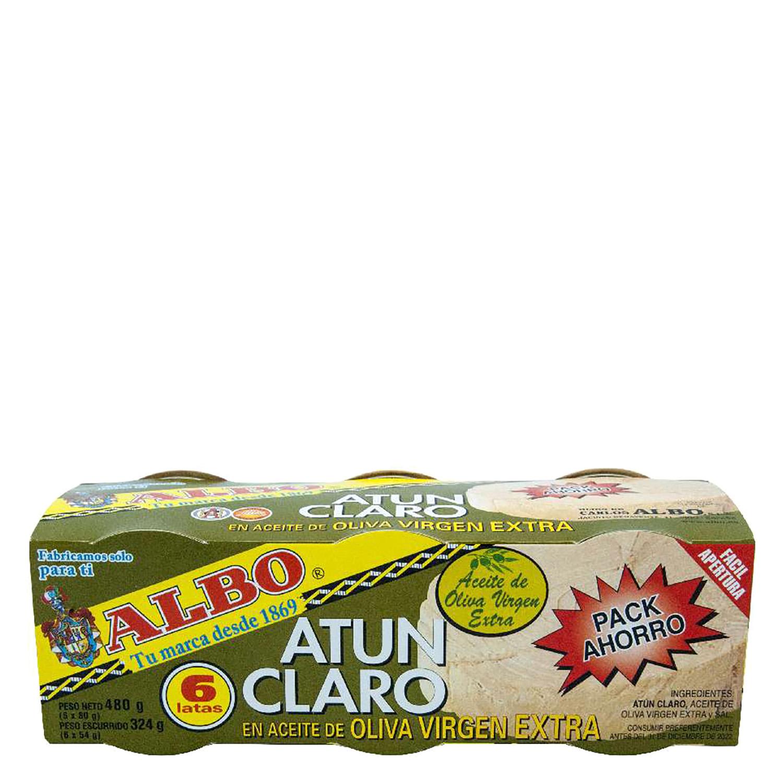 Atún claro en aceite de oliva virgen extra