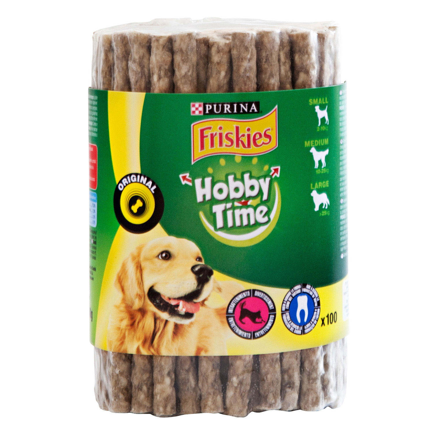 Bastoncitos Reconstituidos para Perro Purina Friskies Pleasure Chewing 600 gr