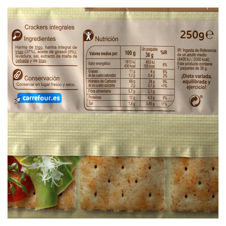 Crackers integrales -