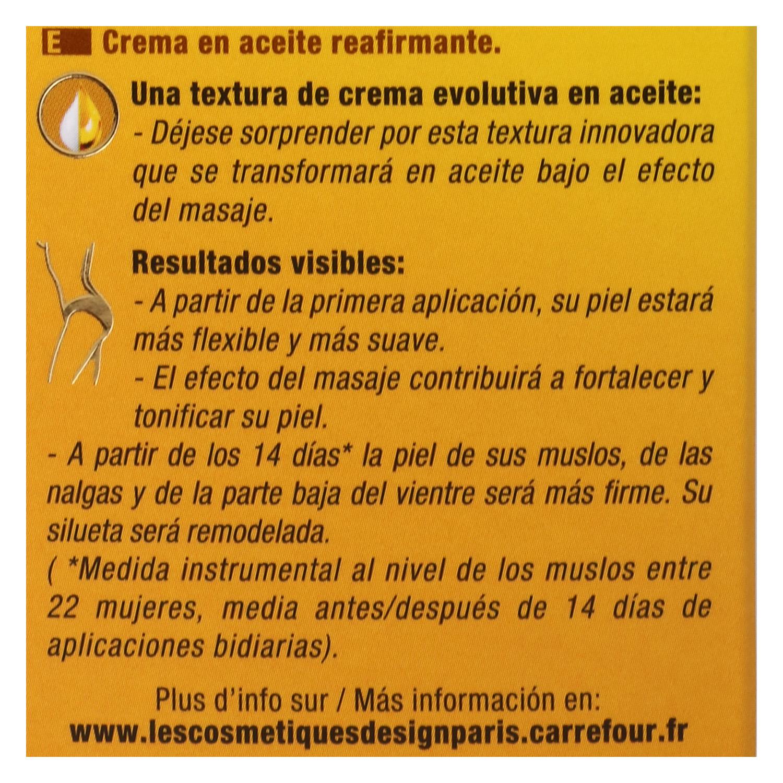 Crema en aceite reafirmante - 3