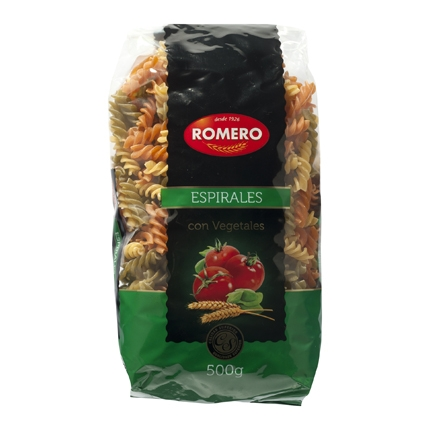 Espirales Romero vegetales 500 g.