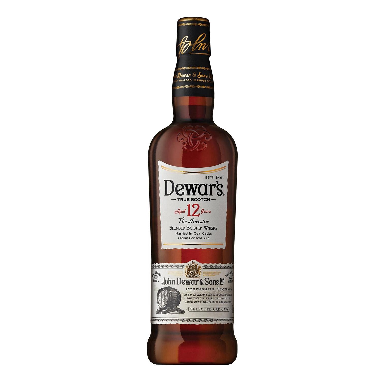 Whisky White Label escocés 12 años 70 cl.