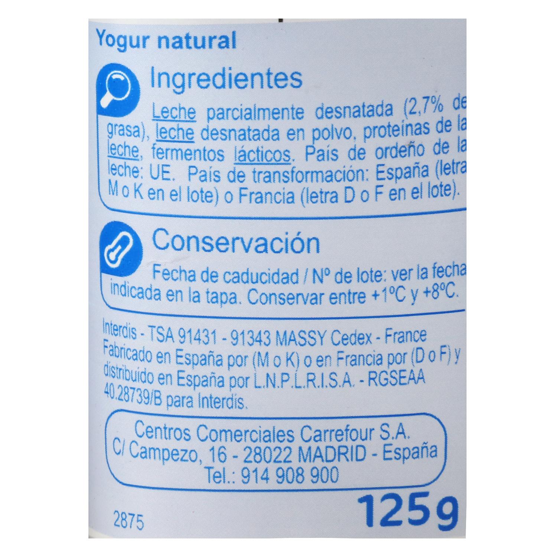 Yogur Natural -