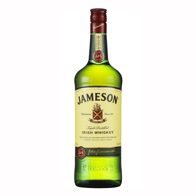 Whisky Jameson irlandés 1 l.