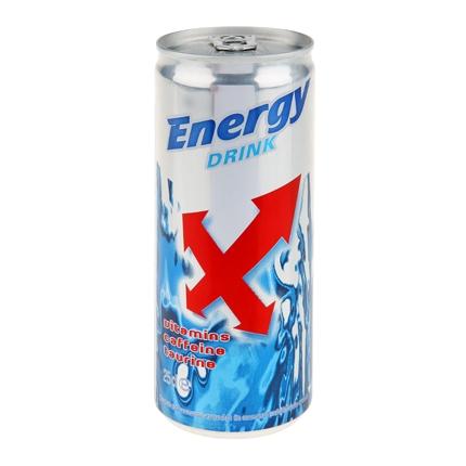 Bebida energética Carrefour 25 cl.