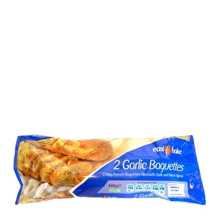 Baguettes con ajo