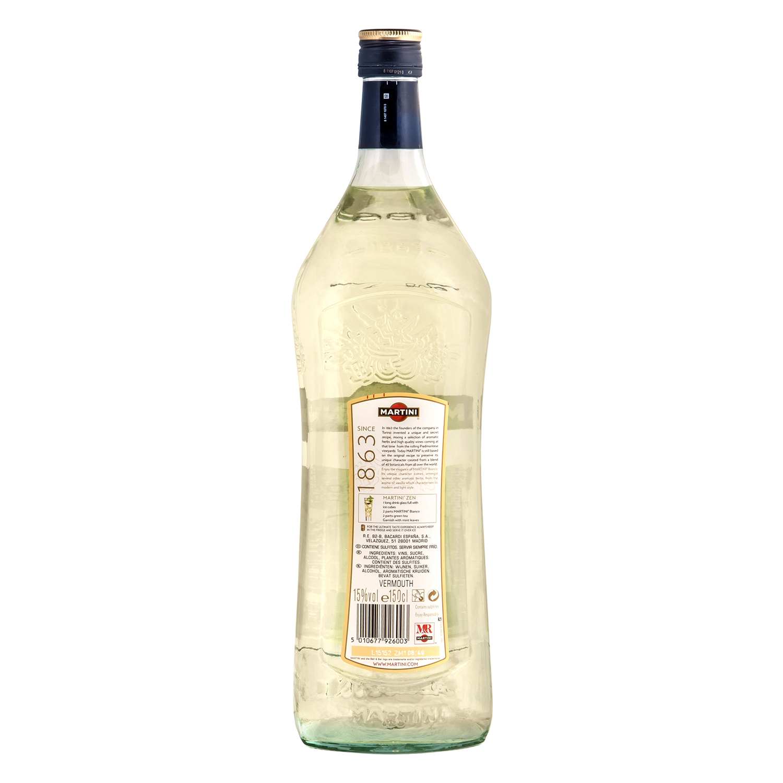 Vermut Martini blanco 1,5 l. -