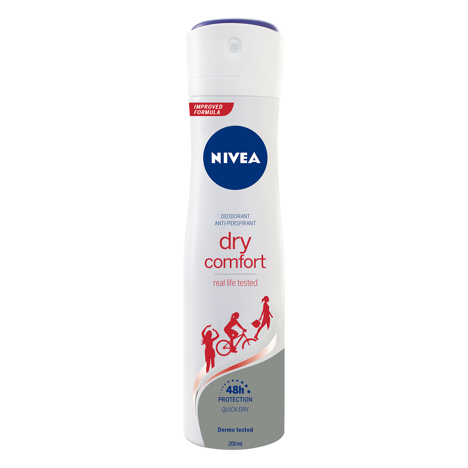 Desodorante Dry Comfort anti-transpirante spray Nivea 200 ml.
