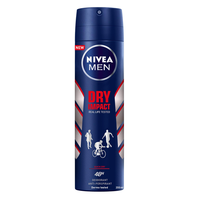 Desodorante Dry Impact anti-transpirante Nivea 200 ml.