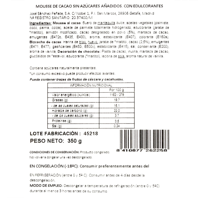 Mousse choco sin azucar - 3