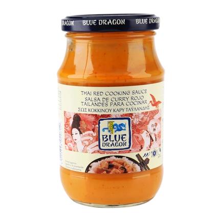 Salsa de curry rojo Tailandés para cocinar
