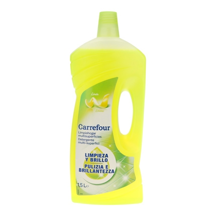 Limpiahogar multiusos aroma limón Carrefour 1,5 l.