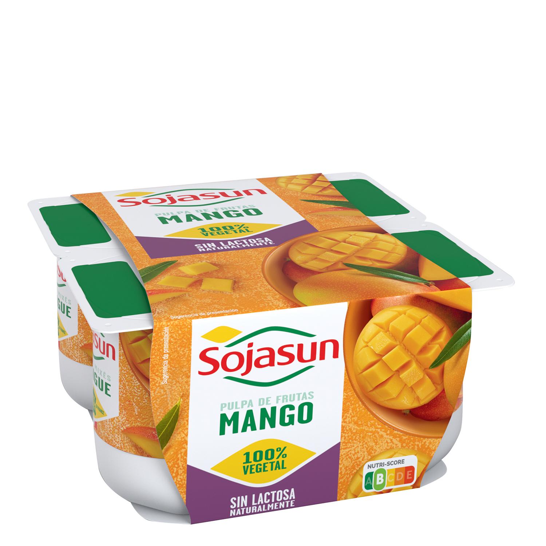Yogur mango pasión