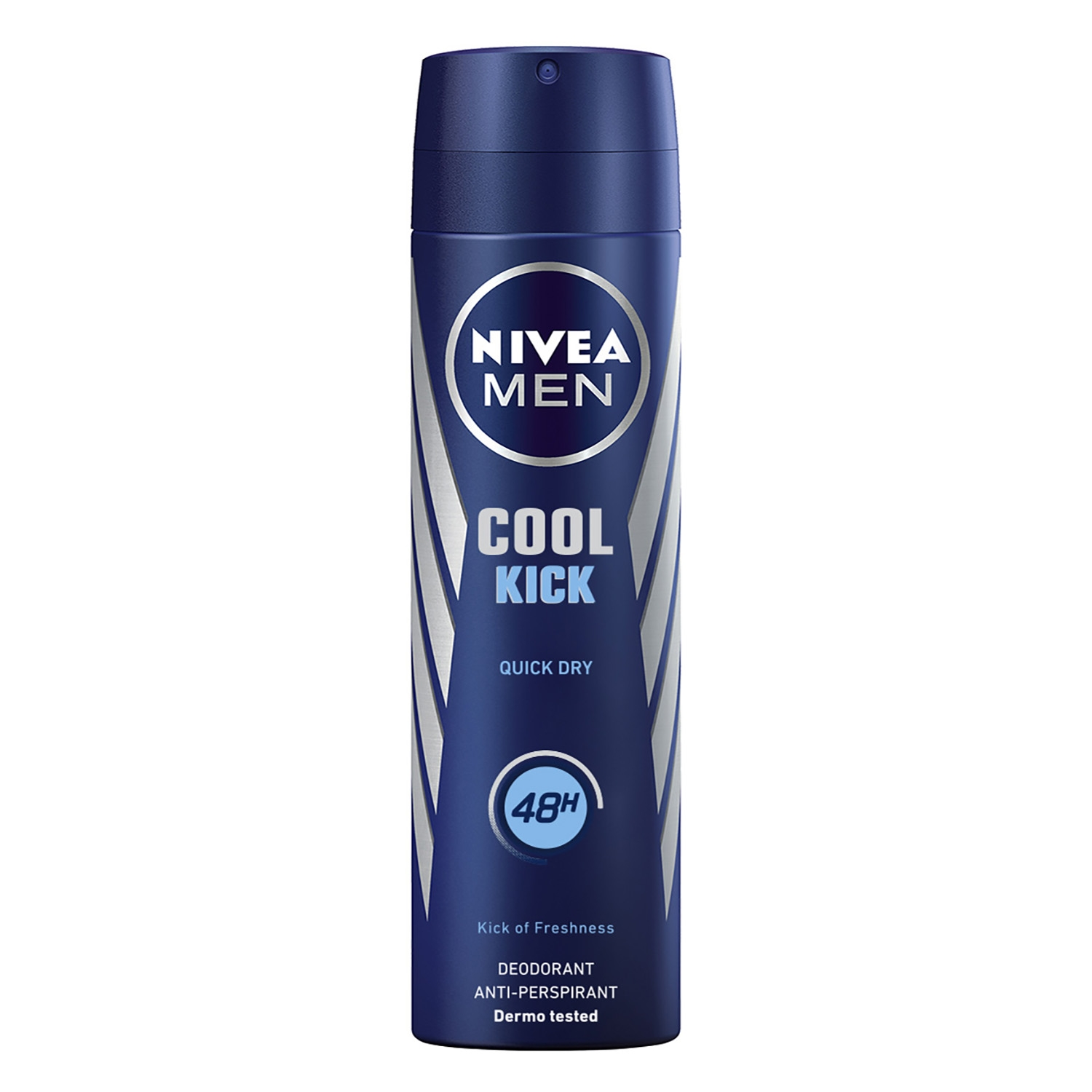 Desodorante en spray anti-transpirante Aqua Cool Nivea 200 ml.